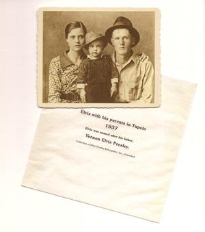 エルヴィス・プレスリー、父バーノン・プレスリー&母グラディス・プレスリー