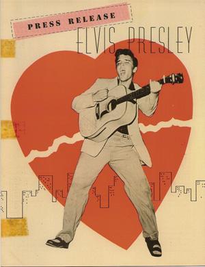 エルヴィス・プレスリー RCAレコードのプレスリリース